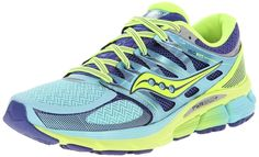 Saucony Women'S Zealot Iso Running Shoe Oxygen/Twilight/Citron 5 B(M) Us