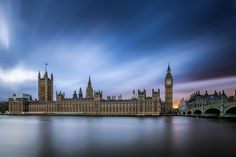 * by J  T on 500px Big Ben, Places To Travel, Britain, United Kingdom, Earth, Sunset, Architecture, City, Awesome