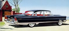1956 Lincoln Premiere Four Door Sedan