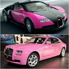 Pink  #Bentley #bugatti @Heather Palmer  for your dr grad present!!!!!!!! I want to drive whichever you get tho!