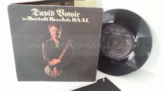 [b]SOLD[/b] DAVID BOWIE david bowie in brecht's baal, 7 inch single - SINGLES all genres, Including PICTURE DISCS, DIE-CUT, 7