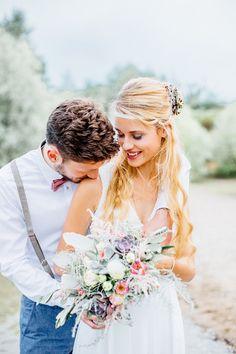 Maritime Boho Inspirationen am See   Hochzeitsblog The Little Wedding Corner
