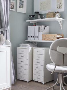 Ikea Handwerksraum, Ikea Canada, Ikea Craft Room, Flexible Furniture, Home Office Organization, Ikea Office Storage, Drawer Unit, Room Decor, The Unit