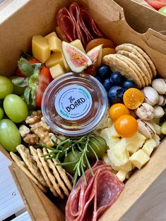 Charcuterie Gifts, Charcuterie Board, Dried Fruit, Nut Free, Crackers, Picnic, Boxes, Lunch, Cheese