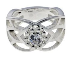 The Lord of the Rings - The original Jewelry - 925 silver Elvish Ring New Light