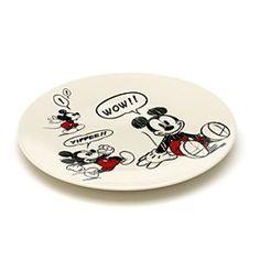 Disney Micky Maus - Beilagenteller im Comic-Look