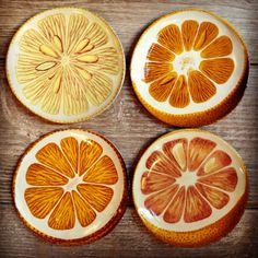 'Citrus Halves' from the Astier de Villatte / John Derian Collaboration