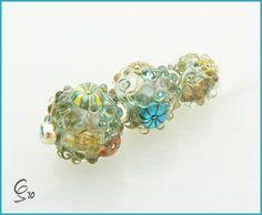 Lampwork beads.