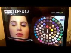Sephora's Augmented Reality Mirror Adds Virtual Makeup To Customers' Faces - PSFK