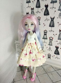 Clothes for dolls. Dress Monster by atelierdolls on Etsy