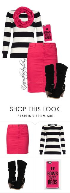 """Apostolic Fashions #928"" by apostolicfashions on Polyvore featuring Vero Moda, Volatile and maurices"