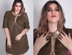 STATEMENT NECKLACE. Moda para tallas extras en Mexico. #mirelfashion #mirelcurvy #plussizefashion https://www.facebook.com/mirelcurvy/
