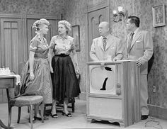 Lucy, Ethel, Fred Ricky the I Love Lucy