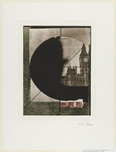 Joseph Cornell (American, 1903–1972)  Untitled (Derby Hat) from the portfolio Prints for Phoenix House