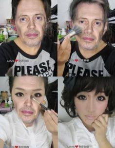 Korean makeup - my god this is hilarious