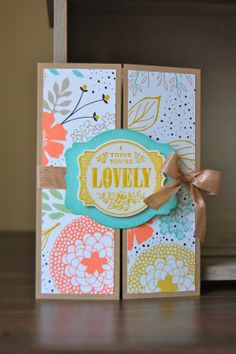 Julie's Japes - A Top UK Independent Stampin' Up! Demonstrator : Happy Birthday Wendy