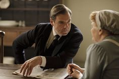 Mr Bates and Mrs Patmore