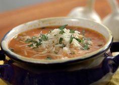 Chicken-Parm-Soup-Crock-Pot | Slow Cooker Chicken Parmesan Soup