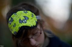 Halloween Mask Eye Sleep Goth Horror Accessories Night Time Travel Bat Pumpkin by RoyalHandicrafts on Etsy
