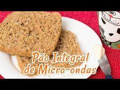 Pão Integral de Microondas | Receitas de Minuto - A Solução prática para o seu dia-a-dia!