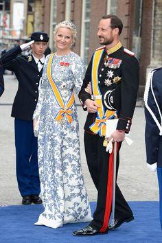 Modest Mette-Marit, Crown Princess of Norway