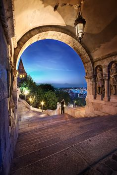 'Fisherman's Bastion', Hungary, Budapest, Fisherman's Bastion