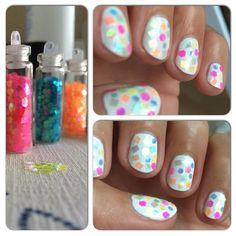 Yaaay it's #friday and my #nails are shiny discoballs  I used @essence_cosmetics #thegelnailpolish Wild white ways as base and some iridescent #glitters. #mani #manicure #nail #nailie #nailart #nailsdid #nailsdone #notd #nailedit #nailgame #nailgram #nailgasm #manicureoftheday #instabeauty #nailsfan #nailswag #nailsidea #nailsofig #npa #nailaddict #nailartwow #nailartclub #naildesign #naildesigns