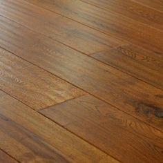 Handscraped Engineered Oak Flooring - Light Stain