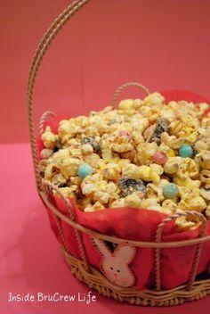 Easter Popcorn Crunch and Munch! - Inside BruCrew Life