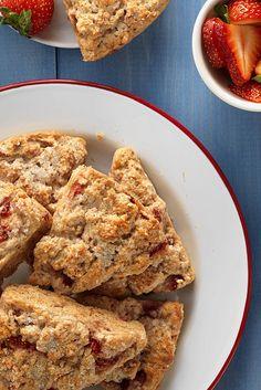 Strawberries & Cream Scones Recipe
