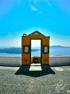 Santorini-Greece.