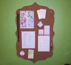 custom corkboards.