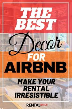 Make your rental irresistable to guests by learning these amazing tips and tricks for your Airbnb decor! The BEST DECOR FOR AIRBNB IS. Airbnb Design, Airbnb Rentals, Vacation Rentals, Airbnb House, Guest Room Decor, Guest Rooms, Island Theme, Rental Decorating, Decorating Ideas