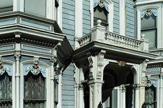 Photo of architecture house victorian, San Francisco, Photo, Leica, Street, USA by San Francisco Photographer Manuel Guerzoni