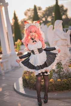 Top Cosplay, Maid Cosplay, Cute Cosplay, Cosplay Costumes, Cute Girl Outfits, Hot Outfits, Japanese Models, Japanese Girl, Anime Cosplay Girls