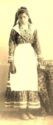Choctaw girl near Tucker, Mississippi - circa 1910