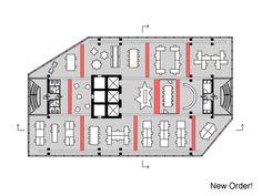 NS Stations,Floor Plan