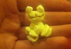 Popcorn lijkt op Garfield