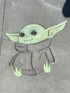 Cute Paintings, Street Chalk Art, Sidewalk Art, Chalkboard Art, Sketch Inspiration, Art, Disney Canvas Art, Sidewalk Chalk Art, Chalk Photos