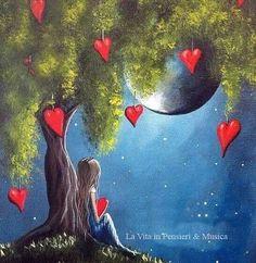 cada veo la luna pienso en el...