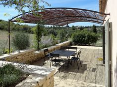 La terrasse de la location de vacances Villa à Bonnieux ,Vaucluse - photo 15390 Crédits Maison en Provence (TM) / Le propriétaire