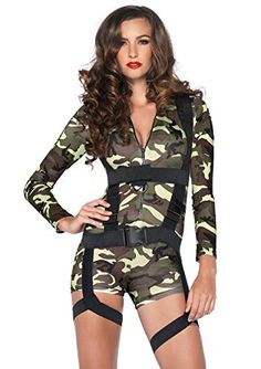 Top 10 Womens Military Costumes For Halloween of 2020 Army Halloween Costumes, Army Costume, Military Costumes, Girl Costumes, Costumes For Women, Halloween Party, Costume Ideas, Costumes Kids, Couple Costumes