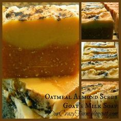 Buy yourself a bar of goat's milk soap {{CLICK HERE}}!     Alexis and I have been having so much fun making soap! Between exciting go...