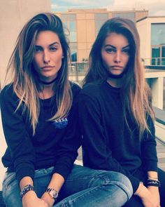 Thylane Blondeau and her half sister | // т н у ℓ α и є в ℓ σ и ...