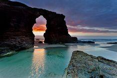 Playas: Playa de las Catedrales (Ribadeo, Lugo)