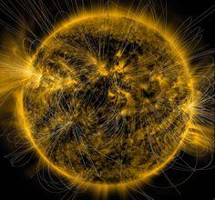 Cosmos: nuestro espacio: Fascinantes imágenes de los campos magnéticos 'invisibles' del Sol en detalle