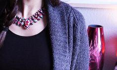 DO IT YOURSELF: Die Neon-Kette - The FASHION ID Blog #diy #necklace #statement #neon