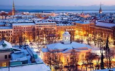 10 Best Cities to live in 8. Helsinki, Finland (96.0)