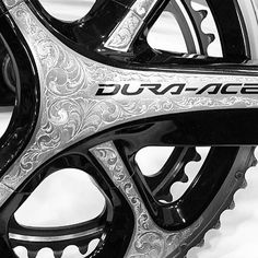 Engraved Dura-Ace. Sweet!