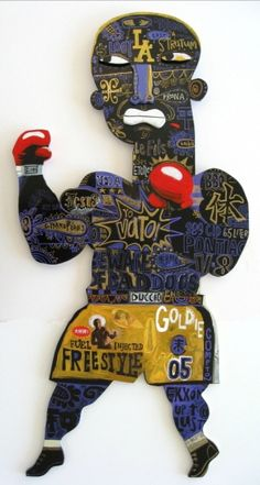 """Le Boxer Freestyle"" by Robert 'Skip' Hill"